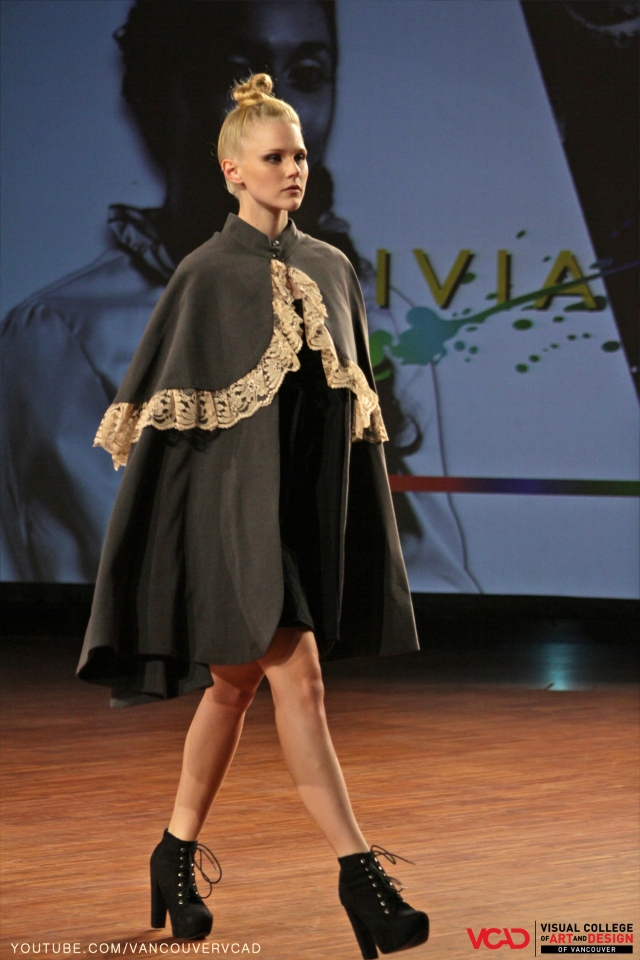 VCAD ONwards Fashion Show 2013 – Space Shuttle Brown Cape and