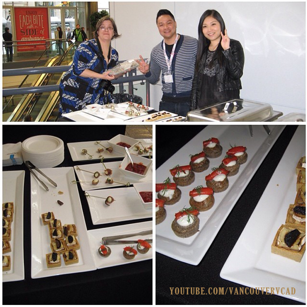 VCAD Spring Portfolio Show 2014 by jncustoms - Manned the Food S